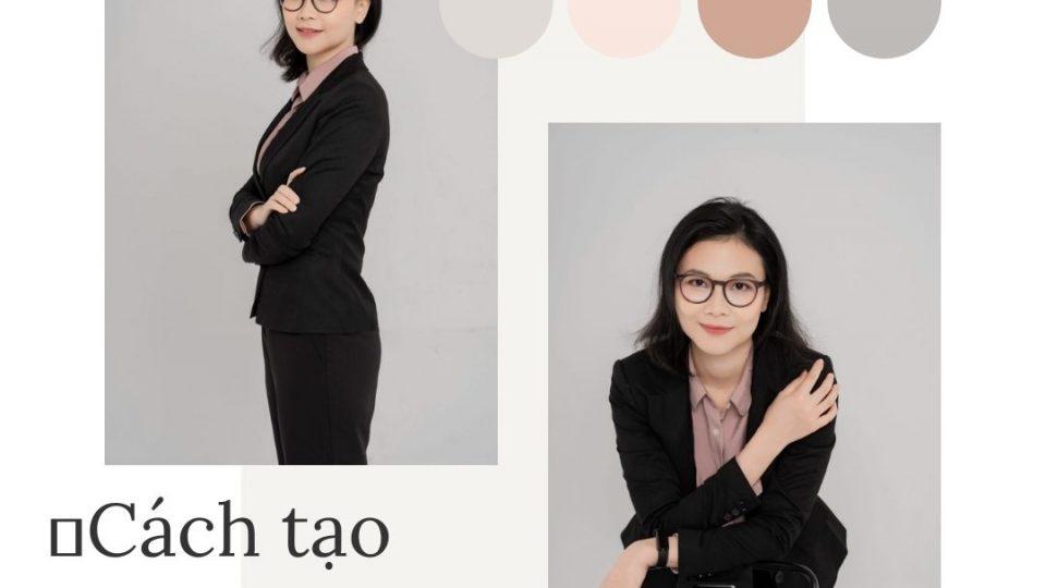 chụp ảnh profile doanh nhân nữ